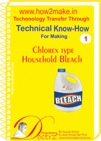 Technical Know-How Chlorex Type Household Bleach (TNHR1)