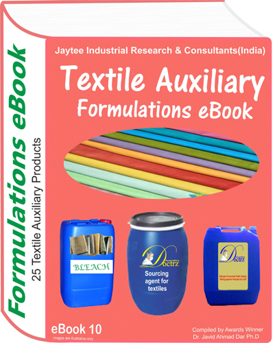 Textile Auxiliary Chemical Products Formulations eBook (eBook10)