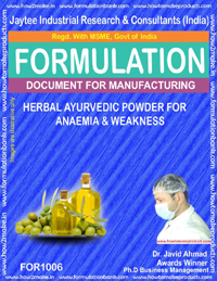 Herbal Ayurvedic Powder for Anaemia & Weakness (for
