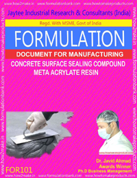 Concrete Surface Sealing Compound Meta Acrylate Type