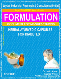 Herbal Ayurvedic Capsules for Diabetes-I (for 1011)