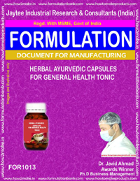 Herbal Ayurvedic Capsules for General Health Tonic (1013