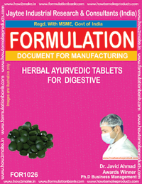 Herbal Ayurvedic Tablets For Digestive (1026)