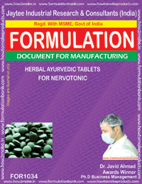 Herbal Ayurvedic Tablets for for Nervotonic(for 1034