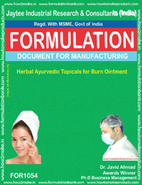 Herbal Ayurvedic Topicals for Burn Ointment(for 1054)