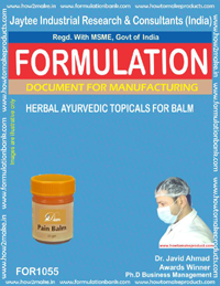 Herbal Ayurvedic Topicals for Balm (for 1055)