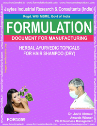 Herbal Ayurvedic Topicals for Hair Shampoo (Dry) (for 1059)
