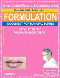 Herbal Ayurvedic Topicals for Mouth Ulcer Cream (for 1062)