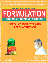 Herbal Ayurvedic Topicals for Chyavanprash (for 1063)