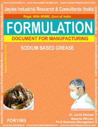 Formula for Sodium Based Grease (for 1069)