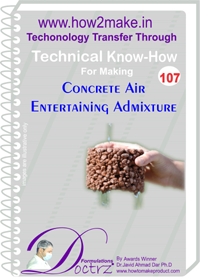 Technical Know-How Report for Concrete Air Entertaining Admixtur