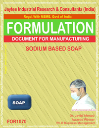 Formula for Sodium Based Soap (for 1070)