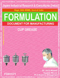 Formula for Cup Grease (for 1071)