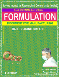 Formula for Ball-Bearing Grease (for 1072)