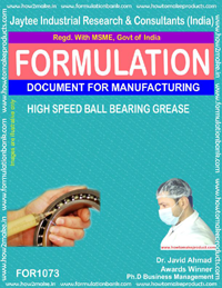 Formula for High Speed Ball-Bearing Grease (for 1073)