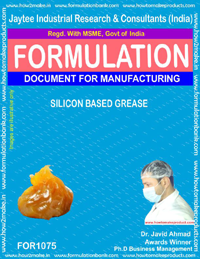 Formula for Silicon Based Grease (for 1075)