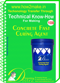 Technical Know-How Report for Concrete Fast Curing Agent (TNHR10