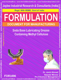 Soda Base Lubricating Grease Containing Methyl Cellulose (1096)