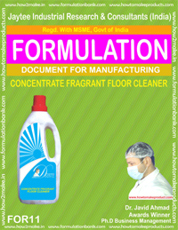 Concentrate Fragrent Floor Ceaner