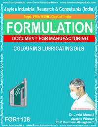 Formula for Coloring lubrication oil (For 1108)