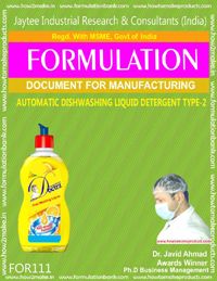 Automatic Dishwashing Liquid Detergent