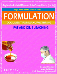 Fat and Oil Bleaching(For 1112)