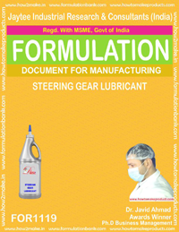 Steering Gear Lubricant (For 1119)