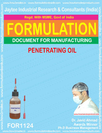 Penetrating Oil (For 1124)