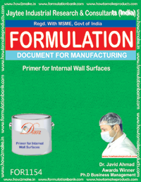 Primer for Internal Wall Surfaces Formulation (for 1154)