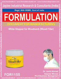 White Stopper for WoodWork Formulation (FORMULA 1155)