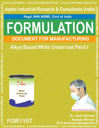 Alkyd Based White Undercoat Paint (Formula 1157)
