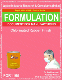 Chlorinated rubber finish (Formula 1165)