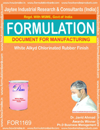 White Alkyd Chlorinated Rubber finish (for1169)