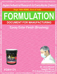 Epoxy Ester Finish Formulation (brushing) (for1171)