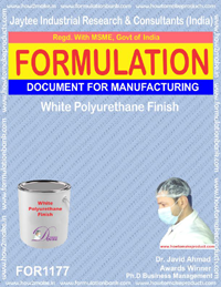 White Polyurethane Finish Formulation (for1177)