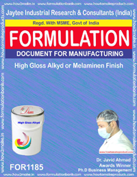 High Gloss Alkyd or Melaminen Finish Formulation(1185)