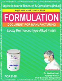 Epoxy Reinforced type Alkyd Finish Formulation(1186)