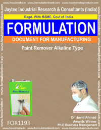 Paint Remover Alkaline Type Formulation(1193)