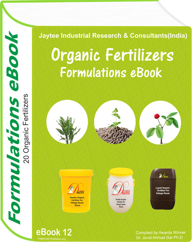 Organic Fertilizers Manufacturing Formulations eBook (eBook12)