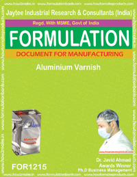 Aluminium Varnish Formulation (for1215)