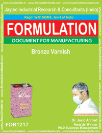 Bronze Varnish Formulation (for1217)
