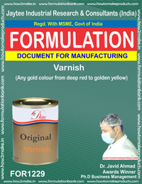 Formula Varnish (Any gold colour from red to golden yellow)1229