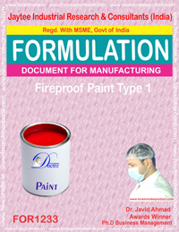 Fireproof Paint Type 1 Formulation (FOR1233 )