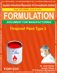 Fireproof Paint Type 3 Formulation (FOR1235 )