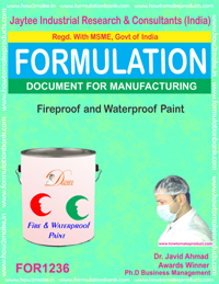 Fireproof and Waterproof Paint Formulation (FOR1236 )