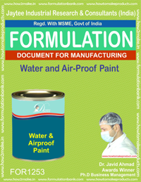 Water and Air-Proof Paint Formulation (for1253)