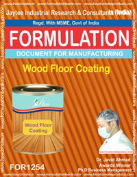 Wood Floor Coating Formulation (for1254)