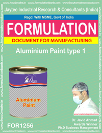 Aluminium Paint type 1 Formulation (for1256)