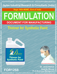 Synthetic Paint Formulation (for1268)