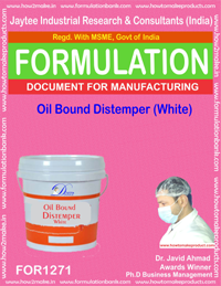 Oil Bound Distemper (White) (for1271)